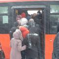 Спор в автобусе