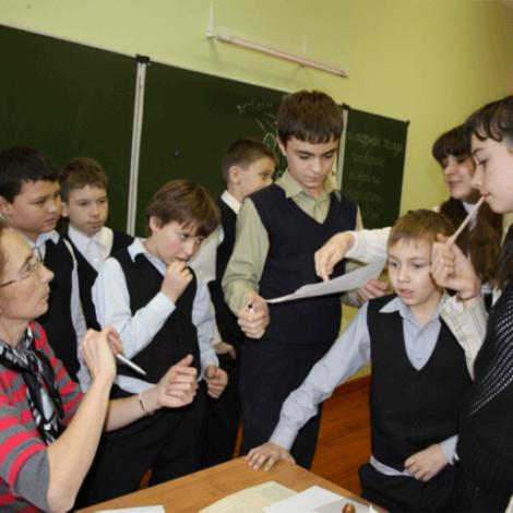 Формирование малых групп подростков – в руках самого педагога